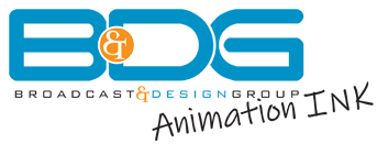 BDG animation ink